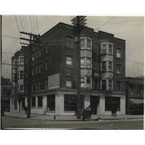 1921 Press Photo Woodland & 22nd, Cleveland Trust - cva83392