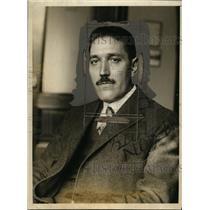 1925 Press Photo Professor John L Gerig Columbia University romance languages