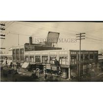 1923 Press Photo Early Scenes Streets, Superior Ave. at E105th - cva95264