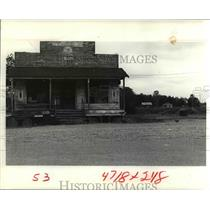 1972 Press Photo Sunflower County company store - cvb00963