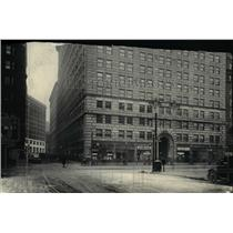 1921 Press Photo The Leader News Building - cva90148