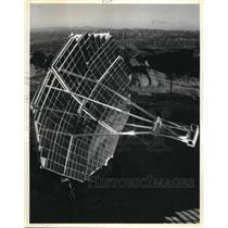 1985 Press Photo Space Station Solar Dynamic Power Generation Test Facility.
