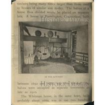 1921 Press Photo Unidentified homes as early as 1600's - cva87054