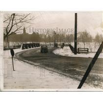 1940 Press Photo The ultimate elimination of the Broadway bridge - cva81574