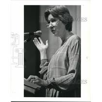 1983 Press Photo Dolores Alexander, founder of Women Against Pornography