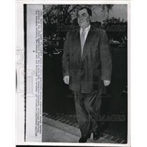 1956 Wire Photo Soviet Ambassador Georgi Zarubin - cvw07225