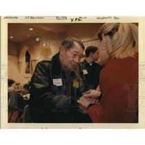 1998 Press Photo Malburn McBroom pilot who crash landed United flight 173