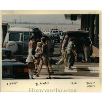 1995 Press Photo Portland International Airport - orb36342