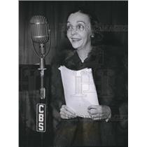 1940 Press Photo ZaSu Pitts Comedian - orx00212