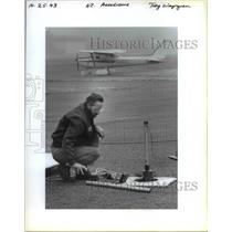 1993 Press Photo Airport Clark Aerodrome - ora98557