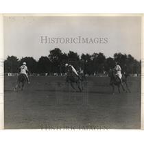 1929 Press Photo Meadow Brook Polo Club at Westbury NY American International