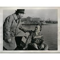 1938 Press Photo U of Pennsylvania crew coach Rusty Callow & Boyd Spencer
