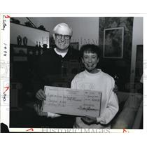 1994 Press Photo Jeffrey Miller & his wife winning the Oregon State Lottery