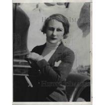 1933 Press Photo Mary Ruth St Albans of Laredo TX - neb39366