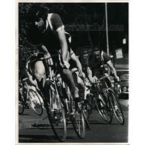 1974 Press Photo Bicycle Race at Expo '74