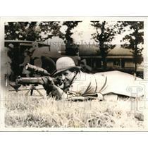1937 Press Photo Miss Rottenburgh Scottish sharpshooter champion - nes43780