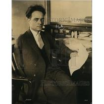 1925 Press Photo Rinaldo Cappelini District President of Miners
