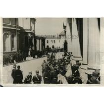 1930 Press Photo new King Carol under heavy guard in Bucharest, Romania