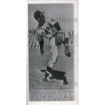 1948 Press Photo Johnny Sain Will Start World Series Game For Boston Braves