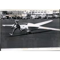 1979 Press Photo Sailplane Glider - spx03502