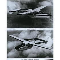 1976 Press Photo Cessna Skymaster and Cessna Pressurized Skymaster - spx03881