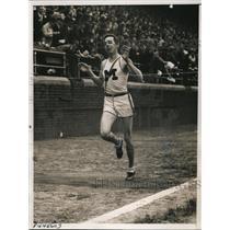 1938 Press Photo Ralph Scheartzkopf in 300 meters at Penn Relays - nes44599