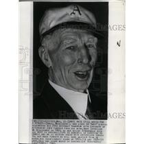 1940 Press Photo Connie Mack of Philadelphia Athletics on 78th Birthday.