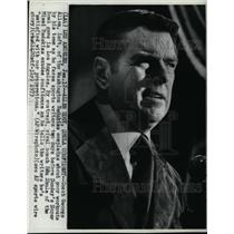 1973 Press Photo Coach George Allen of Washington Redskins Before Super Bowl