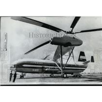 1971 Press Photo Airplanes Russia Helicopter B - spx03035