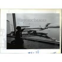 1986 Press Photo Spokane airport  - spx04376