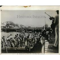 1927 Press Photo Nicaraguan Revolution from The Pacific Side of Country