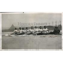 1932 Press Photo Cambridge crew D Haig-Thomas, KM Bayne, TG Askwith - nes45201