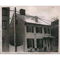 1937 Press Photo CIO John L Lewis Home Built by Dr William Brown in Alexandria