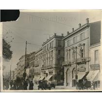 1920 Press Photo Stadium Street in Athens Greece Near East Relief - neb68608