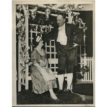 1930 Press Photo Mrs.Arnold E.Williams at Eaton at Bay Village Women's Club