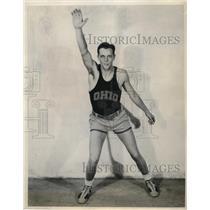 1932 Press Photo Howard Mattison Captain of Ohio basketball team - nes20405