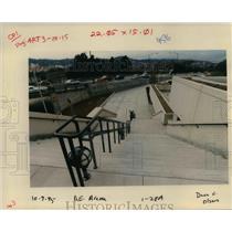 1995 Press Photo Portland Trail Blazer Arena construction - orb41838