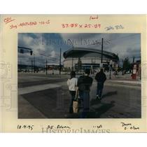 1995 Press Photo Portland Trail Blazer Arena - orb41815