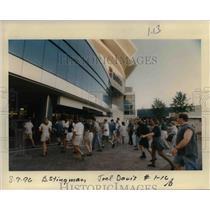 1996 Press Photo Portland Trail Blazer Arena - orb41816