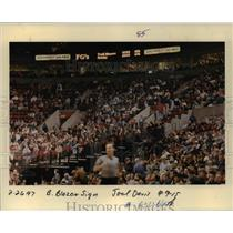 1997 Press Photo Full Southwest Airlines Arena to support Portland Trailblazers