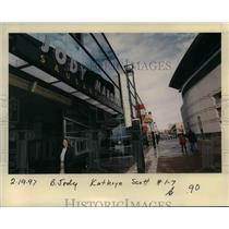 1997 Press Photo Portland Trail Blazer Arena - orb41814