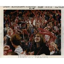 2000 Press Photo Sports fans - orb52270