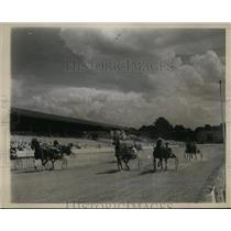 1937 Press Photo Good Time race track Billy Direct wins the heats