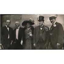1913 Press Photo Attorney General McReynolds Viscount Haldane Sir Muir Mackenzie