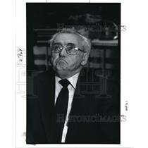 1991 Press Photo Johana Hafner accused a Nazi at concentration camps in Germany