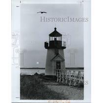 1982 Press Photo New England Island of Nantucketts - cva19954