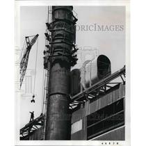 1934 Press Photo Air Pollutiion Control installed at Republic Steel Corps.