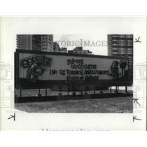 1984 Press Photo A Cuban Billboard in Cuba - cva23114
