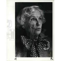 1984 Press Photo Millie Jeffreys - cva25585