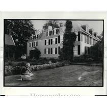 1974 Press Photo The Adam's House in Quincy Massachusetts - cva20089